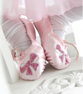 Satin Ballet Shoes