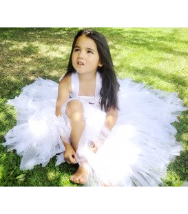 White Fairy Princess Dress