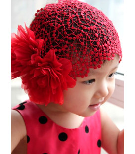 Red Rose Hair Net