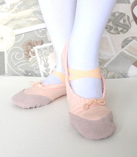 Peach Ballet Slippers