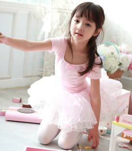 Light Pink Tutu with Dots