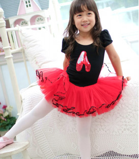 Black and Red Ballet Tutu